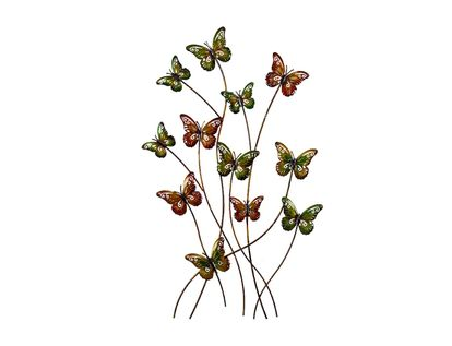 cuadro-metalico-76-x-45-cm-12-mariposas-verde-naranja-7701016817172