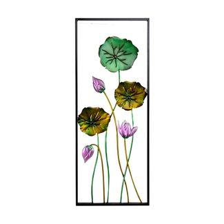 cuadro-metalico-91-x-36-cm-3-flores-con-hojas-moradas-y-verdes-7701016817608