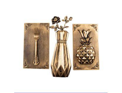 adorno-para-pared-x-3-piezas-florero-tenedor-pina-dorado-7701016823647