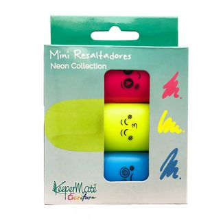 mini-resaltadores-neon-collection-keepermate-x-3-und-7702124562428