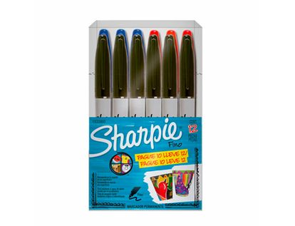 marcadores-permanentes-sharpie-por-12-unidadea-7501030603047