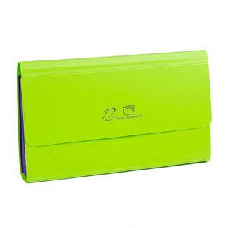 archivador-fuelle-26x14-cm-12-bolsillos-verde-7701016935494