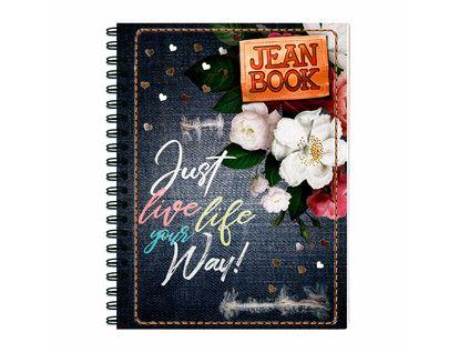 cuaderno-105-cuadros-jean-book-80h-just-live-life-595877