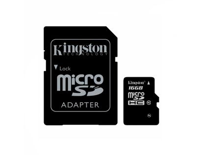 memoria-kingston-micro-sdhc-de-16-gb-adaptador-clase-10-740617245974