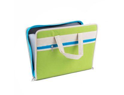 archivador-con-fuelle-a4-de-lona-verde-con-azul-1-6939926905813