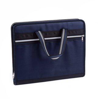 archivador-con-fuelle-a4-de-lona-azul-con-negro-1-7701016935579