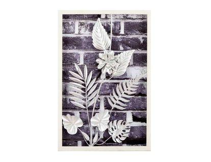 cuadros-diseno-hojas-helecho-y-flor-plateadas-en-aluminio-7701016816748