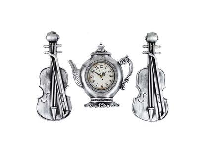 adornos-plateados-para-pared-x-3-piezas-reloj-diseno-tetera-y-violines-7701016823296