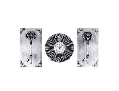 adornos-plateados-para-pared-x-3-piezas-reloj-y-llaves-7701016823449