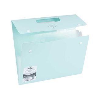 archivador-de-fuelle-a4-con-manija-diseno-one-day-verde-menta-1-7701016932844