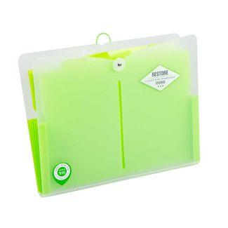 archivador-de-fuelle-a4-con-cordon-color-verde-7701016933353