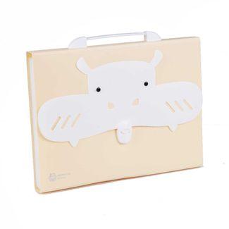 archivador-de-fuelle-a4-diseno-hipopotamo-beige-1-7701016935623