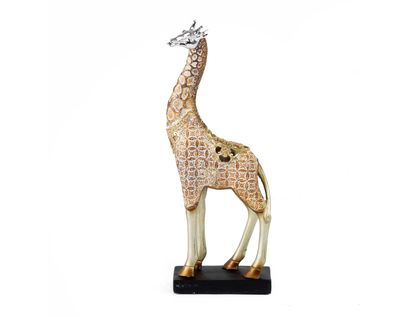 figura-jirafa-dorada-plata-32-cm-7701016806077