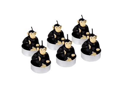 set-de-velas-diseno-chimpance-por-6-unidades-7701016822350