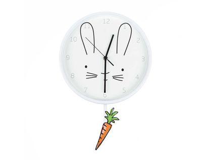 reloj-de-pared-circular-con-pendulo-diseno-conejo-7701016856089