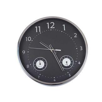reloj-de-pared-30-5-cm-redondo-aluminio-plata-fondo-negro-7701016726962