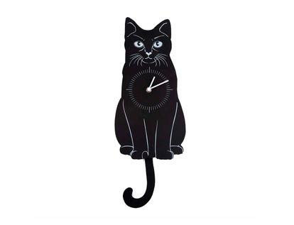 reloj-de-pared-35-7-cm-gato-con-pendulo-negro-7701016856027