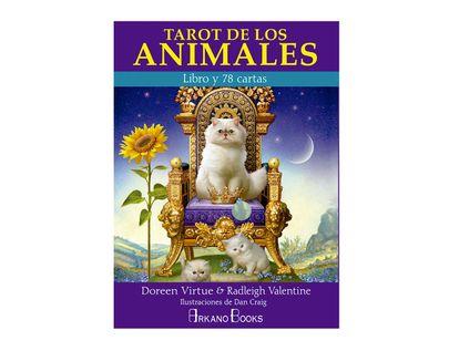 tarot-de-los-animales-libro-cartas--9788415292692