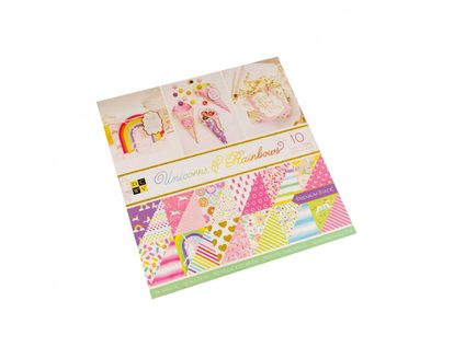 block-scrapbooking-30-5-x-30-5-cm-unicorns-rainbows-611356322144
