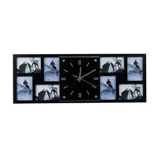 reloj-de-pared-con-portarretratos-8-fotos-negro-7701016828239