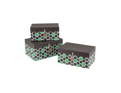 caja-de-regalo-x-3-con-hexagonos-verde-y-negro-7701016867917