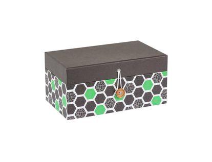 caja-de-regalo-con-hexagonos-verde-y-negro-7701016871907