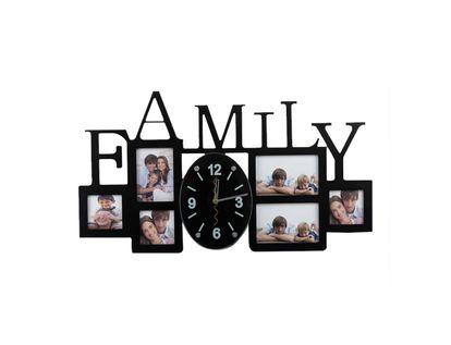reloj-de-pared-con-portarretratos-6-fotos-family-negro-7701016887540