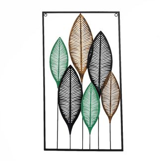 cuadro-metalico-diseno-hojas-doradas-negras-y-verdes-7701016822213