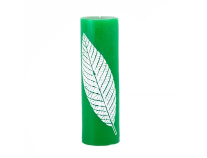 vela-decorativa-18-cm-cilindrica-verde-oscuro-7701016821452