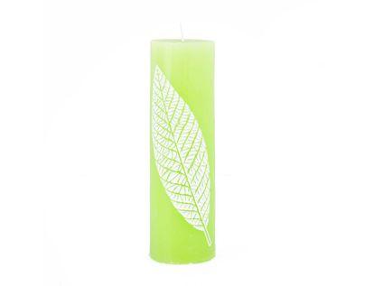 vela-decorativa-18-7-cm-cilindrica-verde-limon-7701016821476