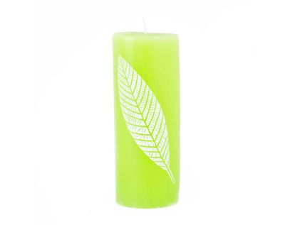 vela-decorativa-15-cm-cilindrica-verde-limon-7701016821483