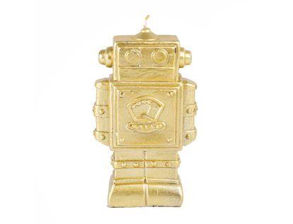 vela-decorativa-12-cm-robot-dorado-7701016821797