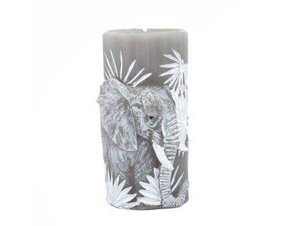 vela-decorativa-15-cm-cilindrica-gris-figura-elefante-7701016821995