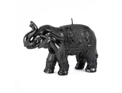 vela-decorativa-12-cm-elefante-negro-con-manta-7701016822176