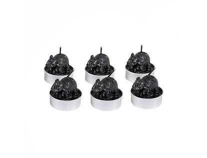 set-de-velas-x-6-und-elefante-negro-7701016822220