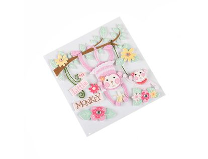 stickers-dimensional-4-piezas-mono-nina-15586977066
