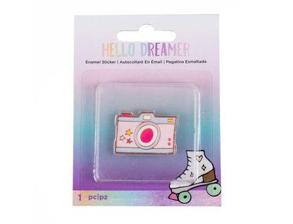 sticker-esmaltado-hello-dreamer-camara-718813416849