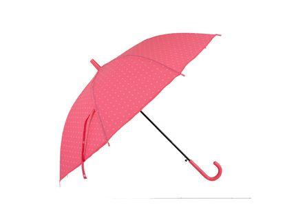 paraguas-74-cm-automatico-8-rayos-rosado-con-puntos-7701016826501