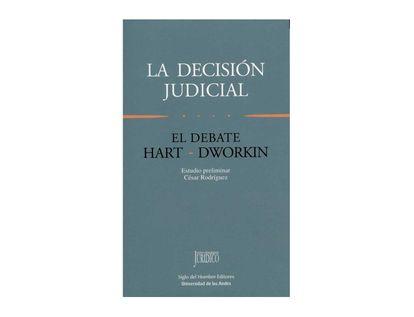9789586650045-La-decision-judicial.-el-debate-Hart-Dworkin