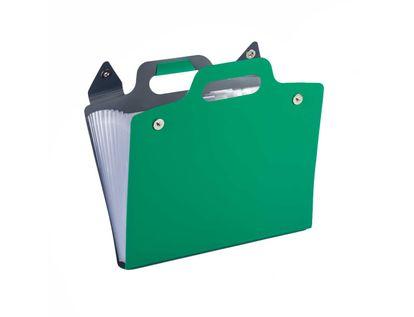 archivador-de-fuelle-plastico-a4-verde-con-manija-7701016911115