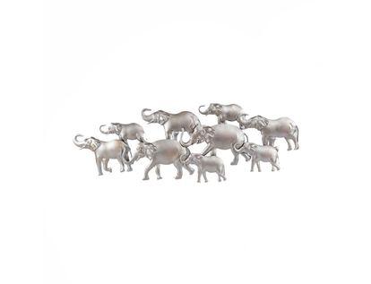 adorno-de-pared-9-elefantes-plateado-7701016864978