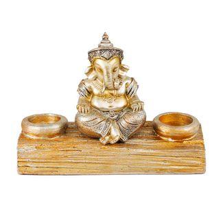candelabro-dorado-con-2-porta-velas-ganesha-7701016928380