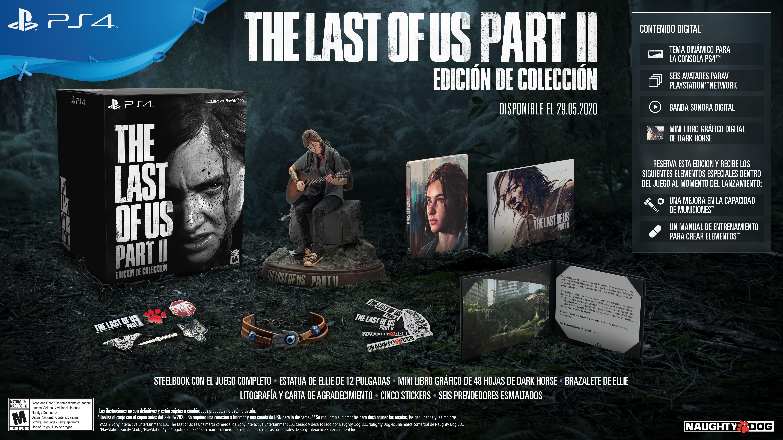 The Last of us Part II Edición Colección Play Station 4