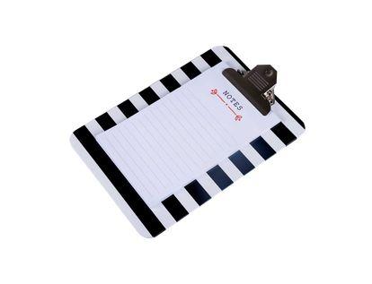 tabla-para-notas-a5-diseno-rayas-blancas-y-negras-7701016598187