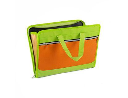 archivador-fuelle-a4-con-bolsillo-verde-naranja-7701016963145