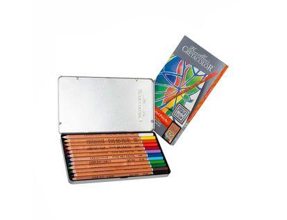 estuche-metalico-12-lapices-pastel-cretacolor-9002592470125