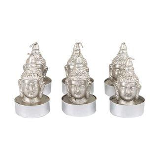 set-de-velas-plateadas-x-6-unidades-en-forma-cabeza-de-buda-7701016797160