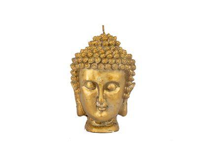 vela-dorada-en-forma-cabeza-de-buda-7701016797177
