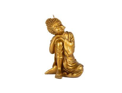 vela-dorada-en-forma-de-buda-sentado-con-vestido-7701016797207