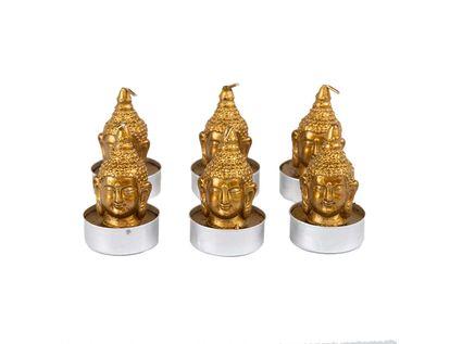 set-de-velas-doradas-x-6-unidades-en-forma-cabeza-de-buda-7701016797139